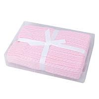 Детское одеяло вязанное для девочки TuTu 205. арт.3-003920
