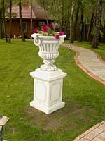 """Вазон садовый из бетона . """"Чаша"""""""