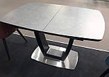 Обеденный раскладной стол RAVENNA DARK GREY 140/180 темно серый  (бесплатная доставка), фото 2