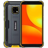 Защищенный смартфон Blackview BV4900 (yellow) IP68 - ОРИГИНАЛ - гарантия!