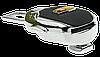 Заглушка - переходник ремня безопасности  с логотипом CADILLAC VIP КЛАССА (Авиационная сталь, кожа), фото 4