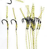 Карповый поводок (волос) , крючки «Fudo Carp Hook» № 8 формы Банан, фото 2