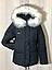 Куртки зимние женские модные с мехом, фото 2