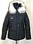 Куртки зимние женские модные с мехом, фото 5