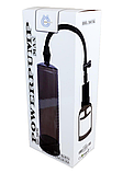 Вакуумная помпа на пенис BOSS Power pump MAX черная, фото 2