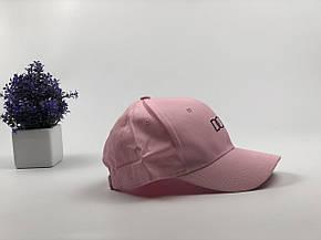 Кепка Бейсболка Чоловіча Жіноча City-A з написом Dope Рожева, фото 2