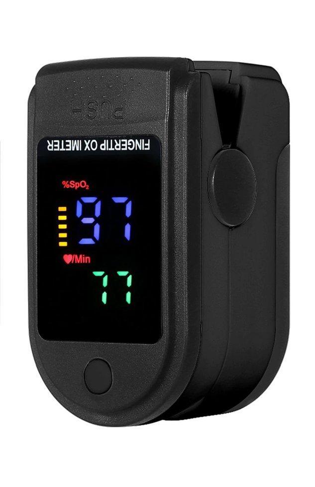 Портативний пульсоксиметр на палець для вимірювання сатурації кисню і частоти пульсу Fingertip