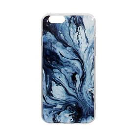 Силиконовый чехол Marble Series (Мрамор) для Apple iPhone 6G Цвет 08
