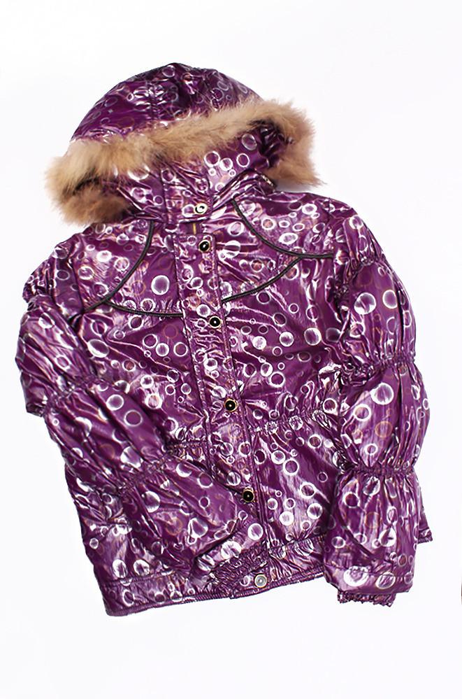 Куртка подросток DB-2139 фиолет