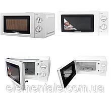 Микроволновая печь 20 л белая Grunhelm (20MX701-W) СВЧ печь микроволновка 800 вт