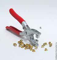 Инструмент для крепления люверсов