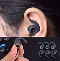 Амбушюры вкладыши для проводной и беспроводной Bluetooth гарнитуры  (вакуумные, спортивные)