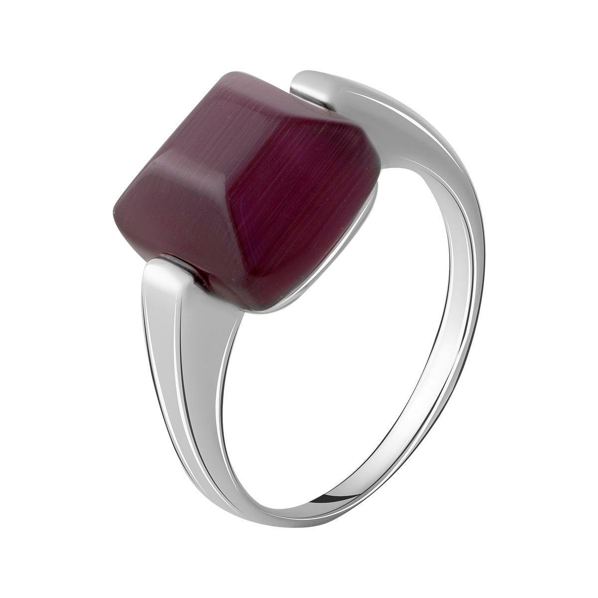 Серебряное кольцо DreamJewelry с кошачим глазом (2054450) 16.5 размер