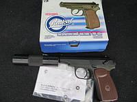 МР654К макарова с иммитатором глушителя (фальшглушитель) серия 22