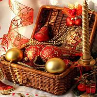 Новогодние товары, игрушки и сувениры