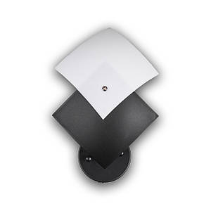 Світильник настінний (бра) на 1 лампочку P3-201011/1W/BK+WT