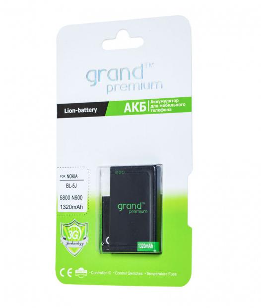 Аккумулятор Grand Premium для Nokia BL-5J