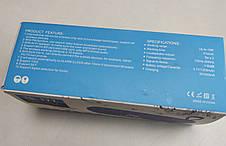 Портативная беспроводная bluetooth юсб колонка музыки блютуз акустика с часами радио для телефона черный, фото 3
