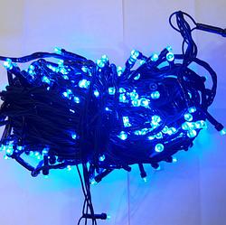 Гирлянда диод 300LED Синяя RD-9030   Новогодняя светодиодная бахрома