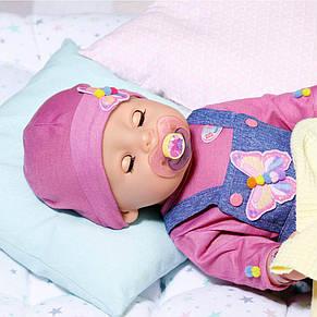 Лялька Джинсовий цибулю Ніжні обійми Baby Born Zapf Creation 831298, фото 3