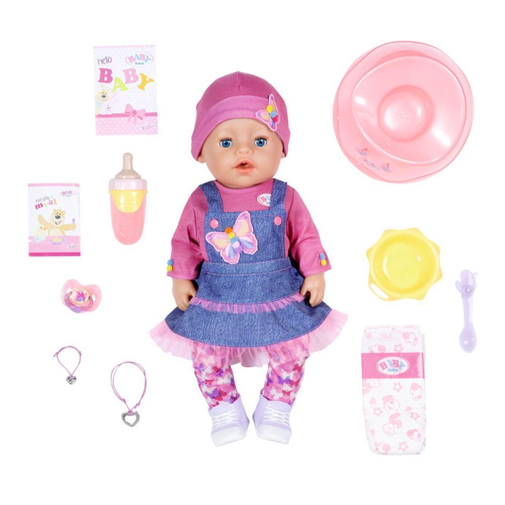 Лялька Джинсовий цибулю Ніжні обійми Baby Born Zapf Creation 831298