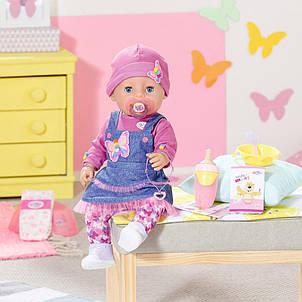 Лялька Джинсовий цибулю Ніжні обійми Baby Born Zapf Creation 831298, фото 2