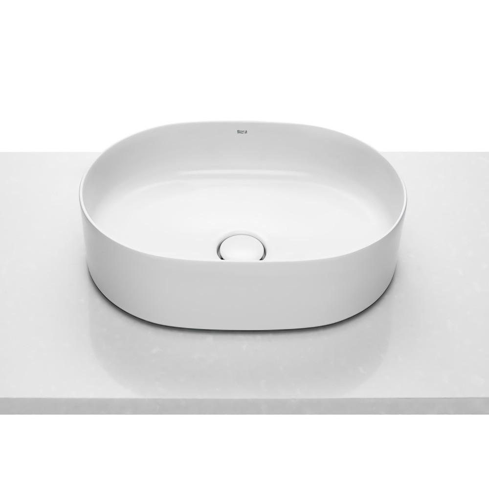 INSPIRA Round умывальник 50*37*14cм, круглый, накладной, без отв. под смеситель, без перелива