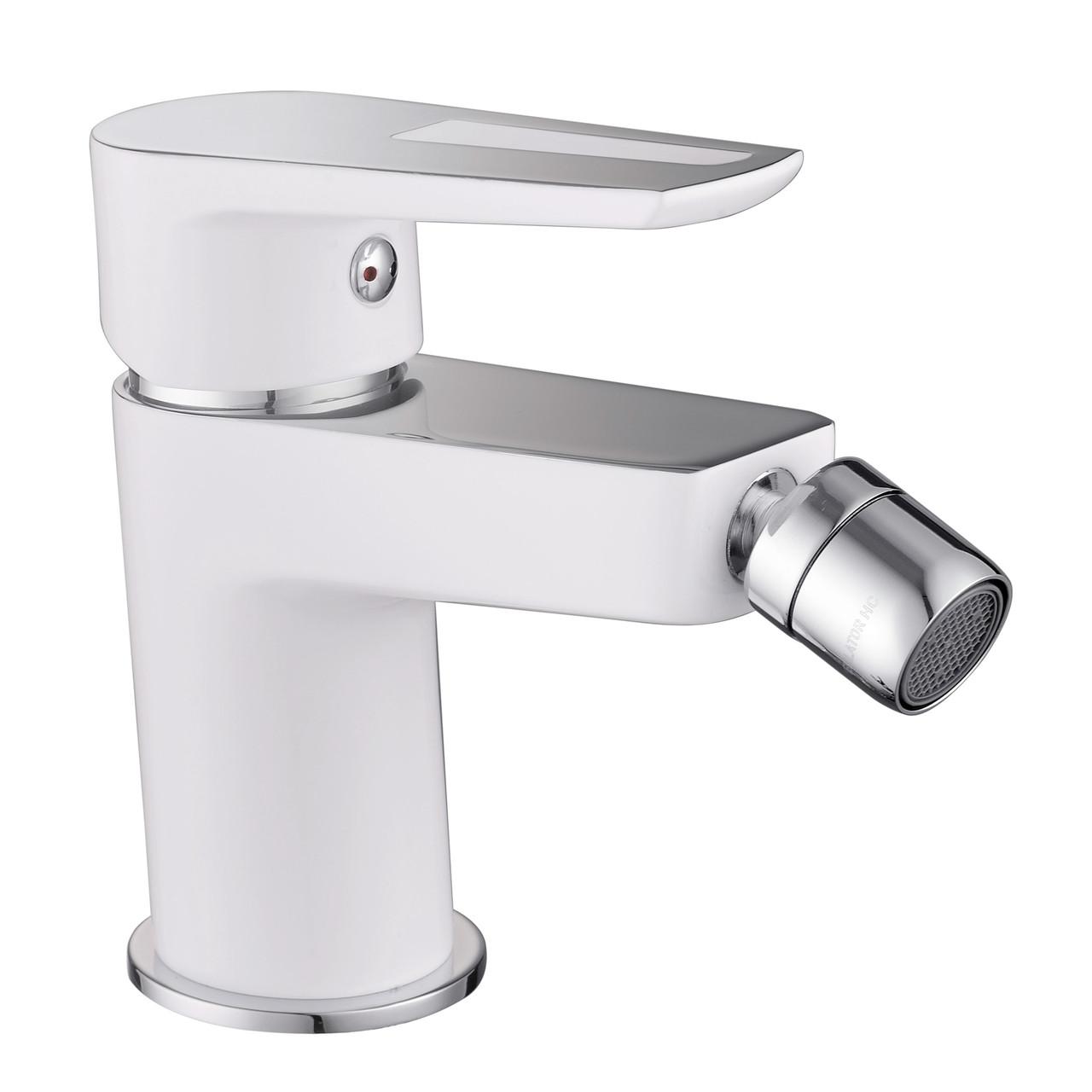 BRECLAV смеситель для биде, хром/белый, 35 мм