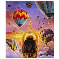 """Картина раскраска по номерам """"Воздушные шары"""", 40х50см. №30338"""