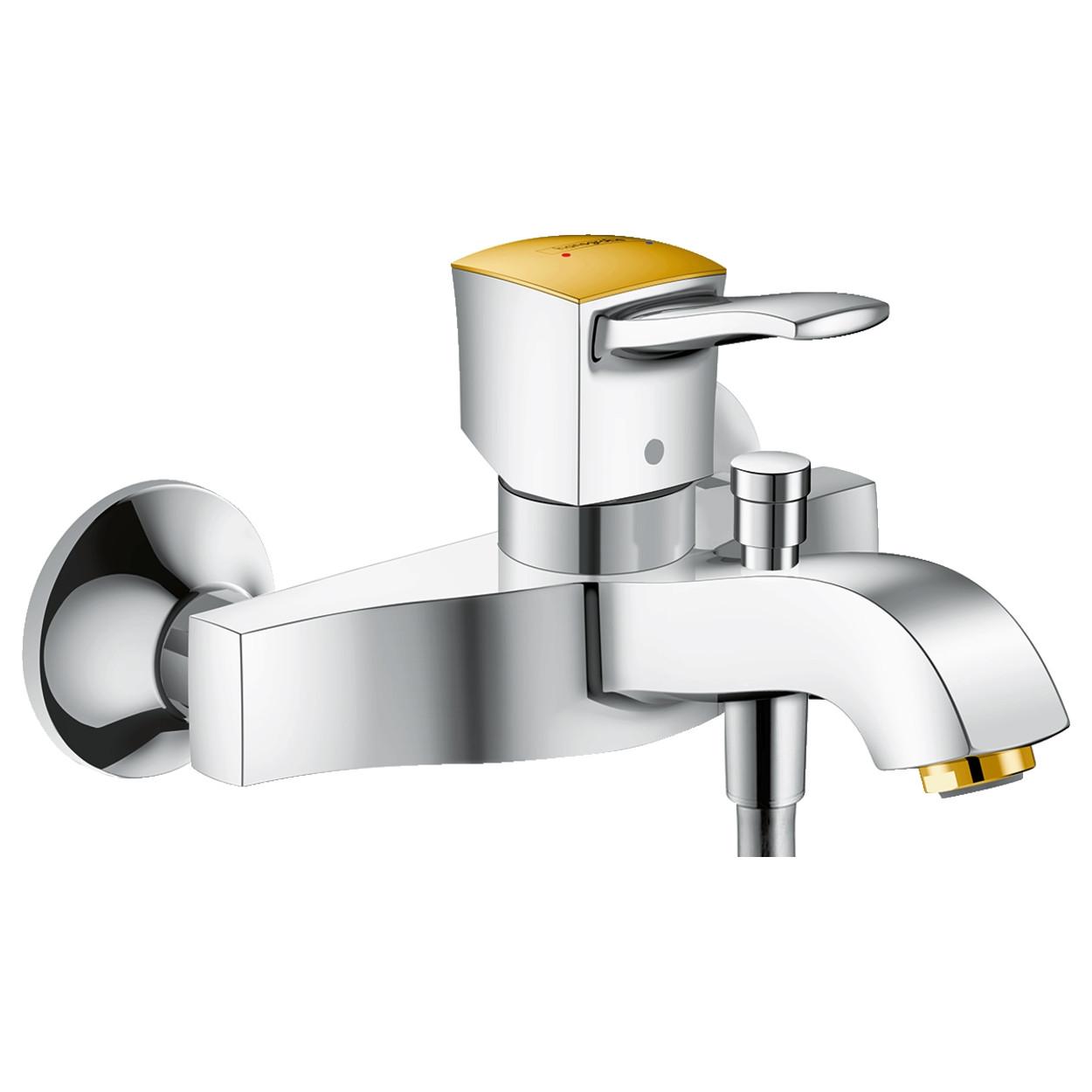 METROPOL Classic змішувач для ванни одноважільний, хром/золото