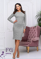 Платье теплое из ангоры хаки, фото 3