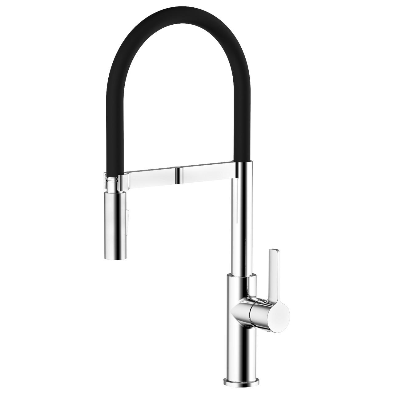 BOA смеситель для кухни с подключением питьевой воды, хром, 35 мм