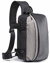 Однолямочный рюкзак Tangcool TC22027 сірий 8л