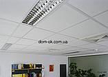 Плита потолочная Оптима/Optima Армстронг -аналог Topiq Efficient Pro 600х600х20мм  Tegular 24, фото 5