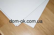 Белая потолочная кассета из оцинкованного металла плоская 0,4 мм до 100шт