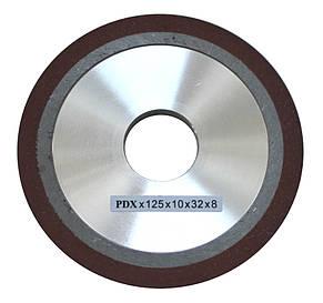 Алмазный шлифовальный круг, шлифовальный круг для заточки пил JMY 8-70 125 Х 10 Х 32  ММ, фото 2
