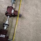 Редуктор разбрасывателя удобрений на 1000 кг . Woprol , Strumyk и др. 60-78 см  по центрам. Размеры на фото., фото 2