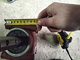 Редуктор разбрасывателя удобрений на 1000 кг . Woprol , Strumyk и др. 60-78 см  по центрам. Размеры на фото., фото 5