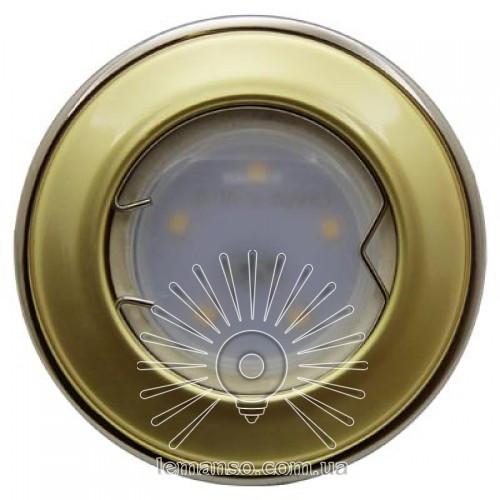 Вбудований світильник Lemanso LMS 004 золото титан