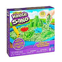 Набор Песка Для Творчества - Замок Из Песка (Зеленый) Kinetic Sand 71402G, фото 1
