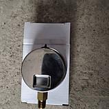 Манометр гліцериновий розподільника польового обприскувача (нержавійка). 16 бар. 12 різьблення., фото 2