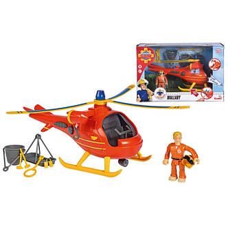 Вертолет спасательный Пожарный Сэм Wallaby Simba 9251087, фото 2