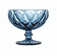 """Набор креманок из цветного стекла Helios """"Сапфир"""" 300мл. 6шт"""