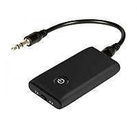 Bluetooth-адаптер аудио приемник/передатчик, Bluetooth 5.0, с аккумулятором, до 8 часов без подзарядки (B10S)