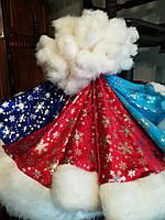Шапка Деда Мороза (велюр мех), фото 1
