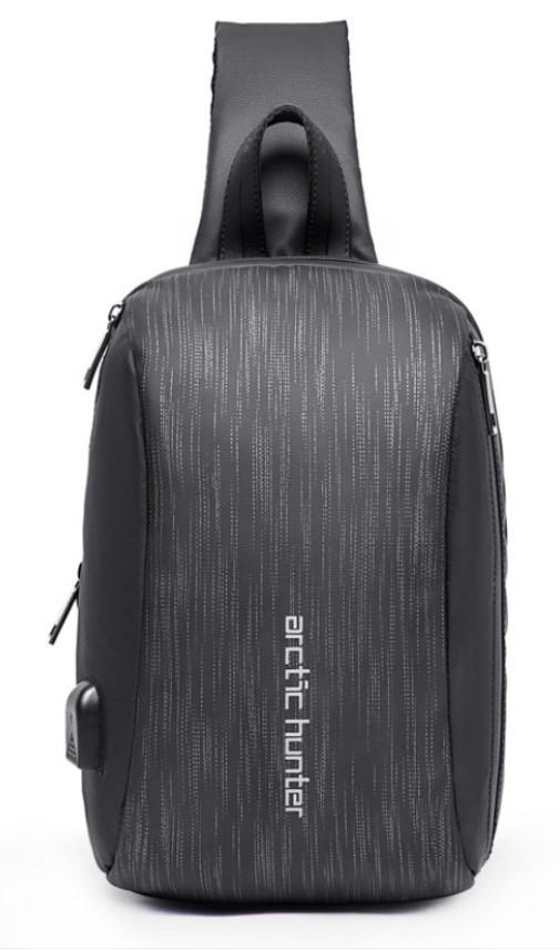 Однолямочний рюкзак Arctic Hunter XB00081 чоловічий міський вологостійкий 6л