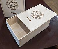 Деревянные подарочные коробки. Коробочка деревянная