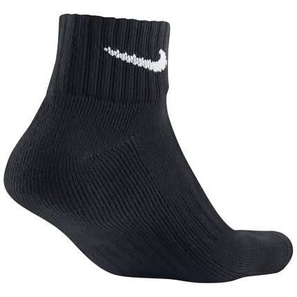 Носки Nike 3 Pack Value Quarter Socks SX4926-001 Черный, фото 2