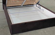 Кровать с мягким изголовьем Литторио, фото 3