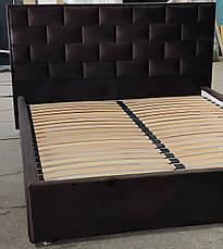 Кровать с мягким изголовьем Литторио, фото 2